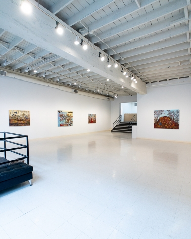Kim Osgood - Tree Lessons - April 2019 - Installation View
