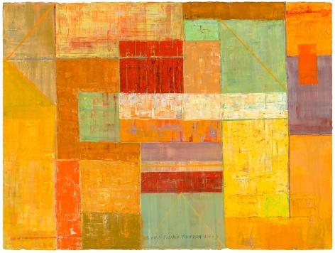 Margot Voorhies Thompson - Woven Desert, Lichen Palette