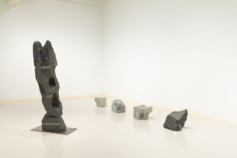 Michihiro Kosuge - Recent Sculpture - August 2019 - Russo Lee Gallery - Installation View 02