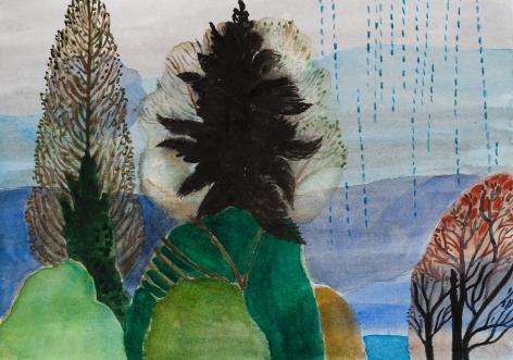 Fay Jones Two Trees 5