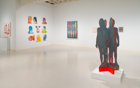 Dan Gluibizzi | A coupled search | September 2019 | Russo Lee Gallery | Installation view 01