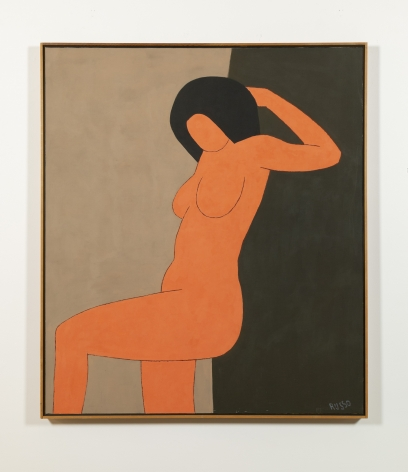 Russo - Nude Leaning