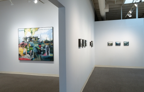 Roll Hardy - Marginal - July 2019 - Installation view 03