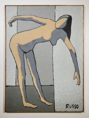 Michele Russo (1909-2004)  Untitled (Bending Woman With Shadow)