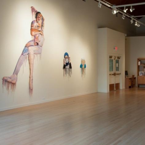 'Millennial pink' meets art in 'Symmetry Breaking' exhibit at Marylhurst