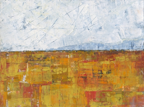 Margot Voorhies Thompson - Glittering Desert, Distant Mountains