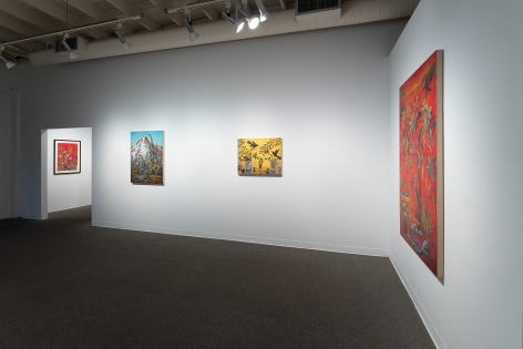 Kim Osgood   Going Into the Forest   Russo Lee Gallery   May 2021   Installation view 03