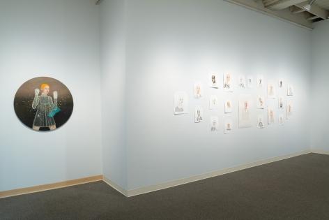 Anne Siems - Bite - August 2019 - Russo Lee Gallery - installation View 03