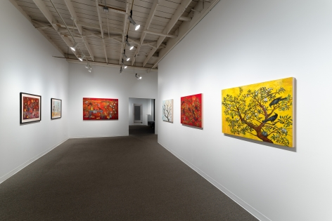 Kim Osgood   Going Into the Forest   Russo Lee Gallery   May 2021   Installation view 09