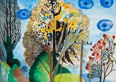 Fay Jones Two Trees 8