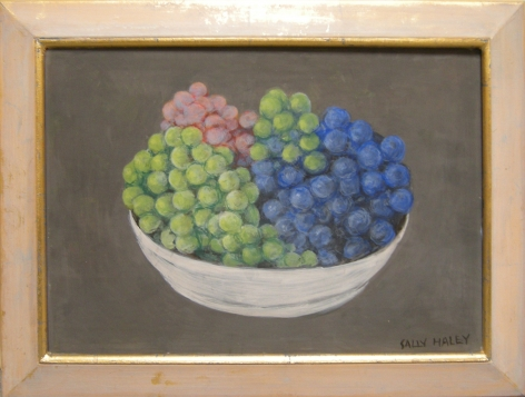 Haley - Untitled (green, red, and blue grapes)