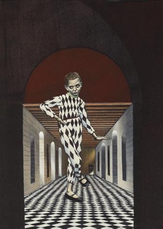 Eric Stotik (b. 1963)  Untitled LR367 (harlequin), 2020