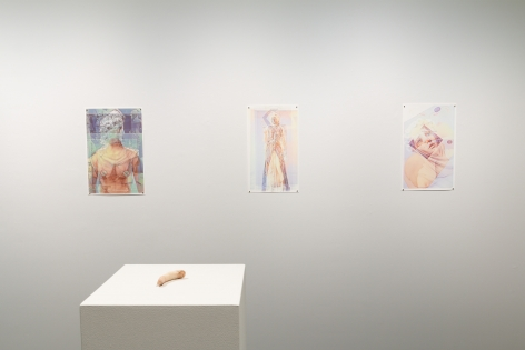 Drinking the Reflection-curated by Elizabeth Malaska-Russo Lee Gallery-Portland-november 2019-Installation view 04