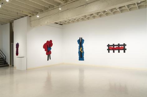 Mel Katz - Wall Sculpture - March 2019 - Installation View 04