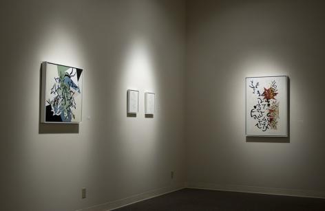 Margot Voorhies Thompson paintings at Laura Russo Gallery November 2012