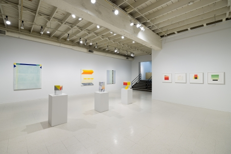 Betty Merken | Persuasive Geometry | March 2020 | Russo Lee Gallery | Portland Oregon | Installation view 03