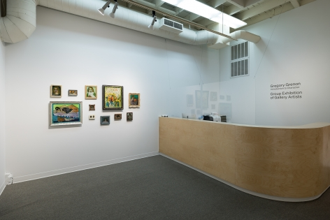 Gregory Grenon | Introduction to Character | Installation View 08