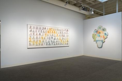 Dan Gliuibizzi | Together we follow | Installation view 1