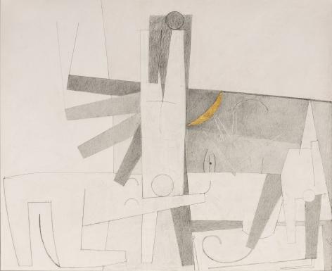 Gina Wilson (b. 1955)  Pink Grey Gold, 2021