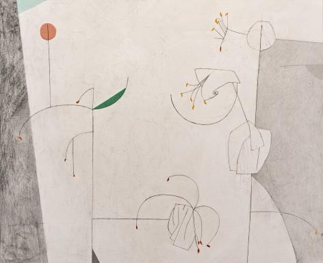 Gina Wilson (b. 1955)  Line Color Lily, 2021