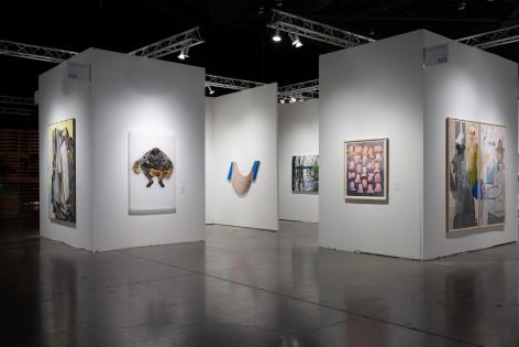 Seattle Art Fair 2019 | Booth A25 | Installation View 01