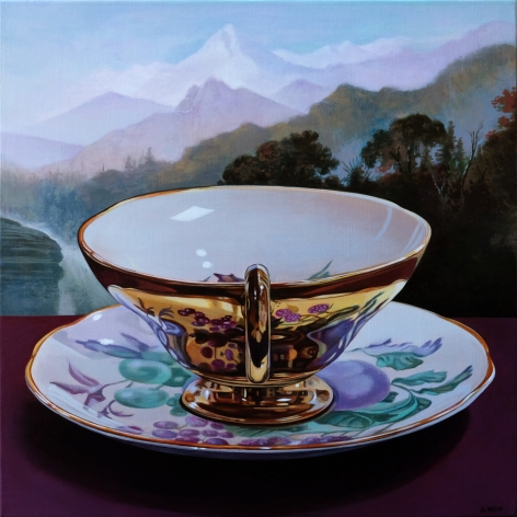 Sherrie Wolf - Gold Luster teacup