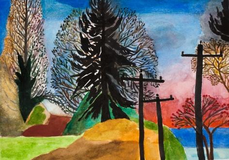 Fay Jones Two Trees 4
