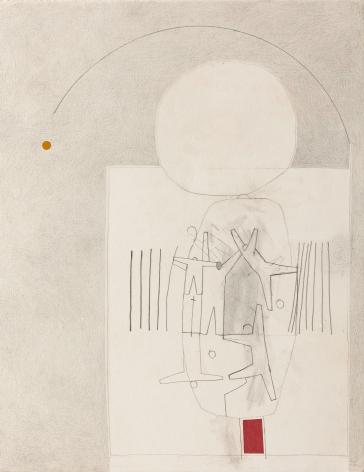 Gina Wilson (b. 1955)  Red Yellow Grey, 2021
