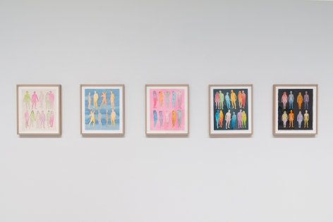 Dan Gluibizzi | A coupled search | September 2019 | Russo Lee Gallery | Installation view 03