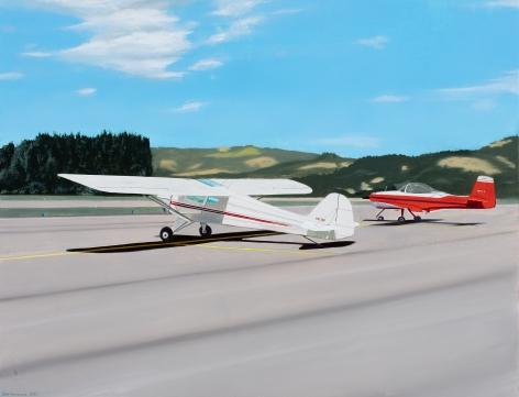 Gabe Fernandez  Two Red Planes