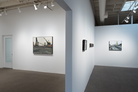 Roll Hardy | New Paintings | March 4–27, 2021 | Install view 06