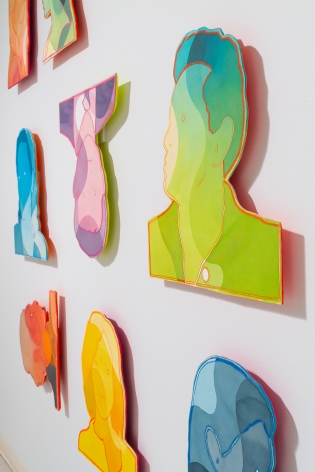 Dan Gluibizzi | A coupled search | September 2019 | Russo Lee Gallery | Installation view 08