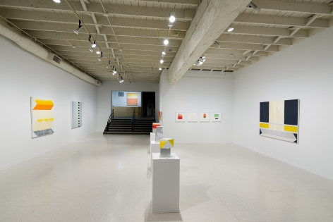 Betty Merken | Persuasive Geometry | March 2020 | Russo Lee Gallery | Portland Oregon | Installation view 05