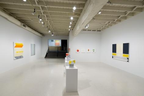 Betty Merken   Persuasive Geometry   March 2020   Russo Lee Gallery   Portland Oregon   Installation view 05