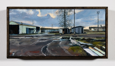 Roll Hardy (b. 1974)  Portland Meadows, 2020