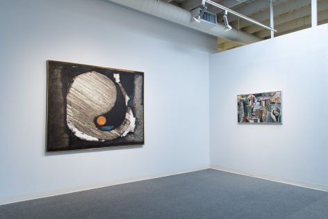 Looking Back installation view