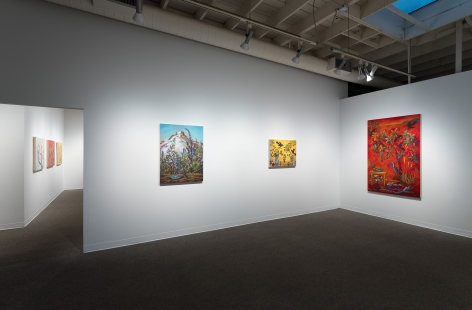 Kim Osgood   Going Into the Forest   Russo Lee Gallery   May 2021   Installation view 02