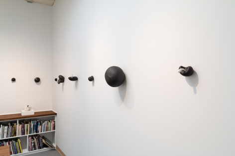 """Maya Vivas - selections from """"i have no choice but to suck the juice out, and who am i to blame"""" - July/August 2019 - Russo Lee Gallery - Installation view 010"""
