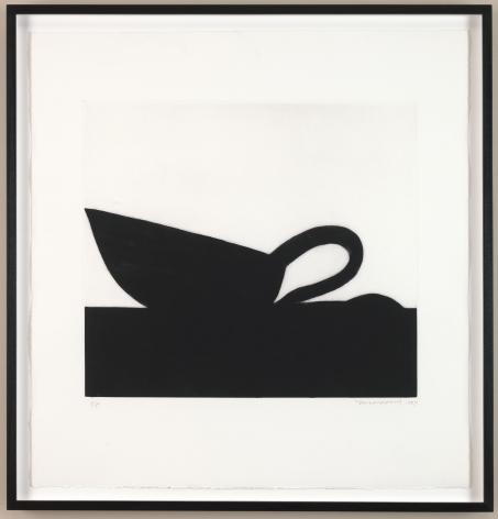 Michael Spafford (b. 1935)  Leda and the Swan, 1997