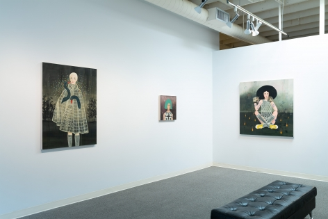 Anne Siems - Bite - August 2019 - Russo Lee Gallery - installation View 05