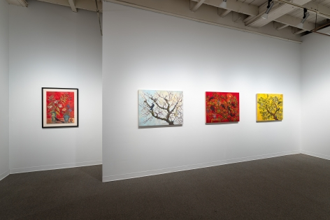 Kim Osgood | Going Into the Forest | Russo Lee Gallery | May 2021 | Installation view 07