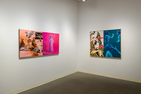Jay Backstrand | A Survey | Russo Lee Gallery | February 2020 | Installation view 02