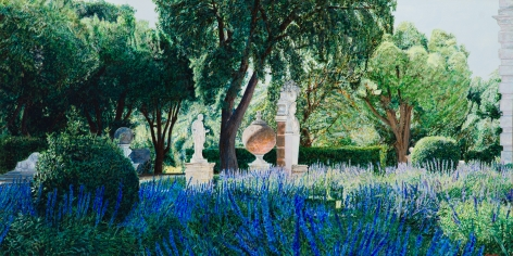 Tom Fawkes (b. 1941)  Piazzale - Borghese, 2020