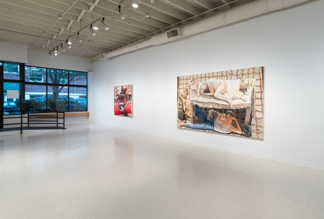 Elizabeth Malaksa   Sacrifice   Russo Lee Gallery   April 2021   Installation View 05