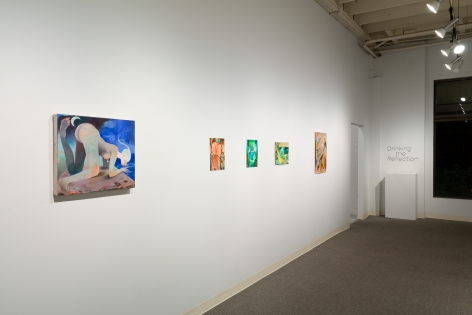 Drinking the Reflection-curated by Elizabeth Malaska-Russo Lee Gallery-Portland-november 2019-Installation view 08
