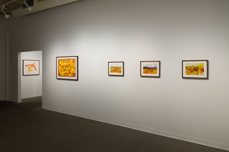 Margot Voorhies Thompson | Desert Light | Russo Lee Gallery | Portland Oregon | March 2020 | Install View 04