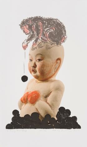 Takamori - Sitting Monkey