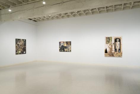 Elizabeth Malaska   Heavenly Bodies   Installation View 3