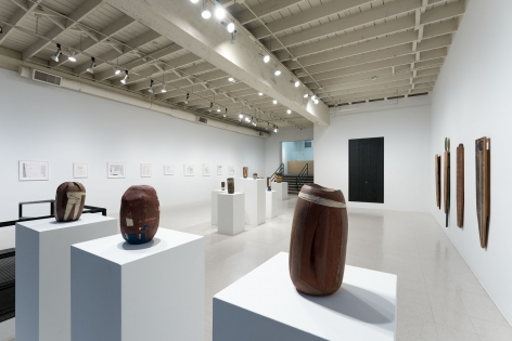 Gina Wilson - teeter taught her - September 2–October 2, 2021 - Russo Lee Gallery - Installation View 04