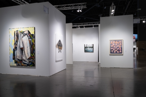 Seattle Art Fair 2019 | Booth A25 | Installation View 02